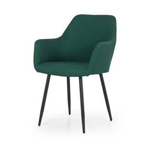 Zelená jedálenská stolička Tenzo Linn