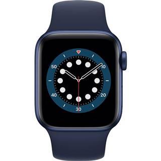 Inteligentné hodinky Apple Watch Series 6 GPS 44mm púzdro z modrého
