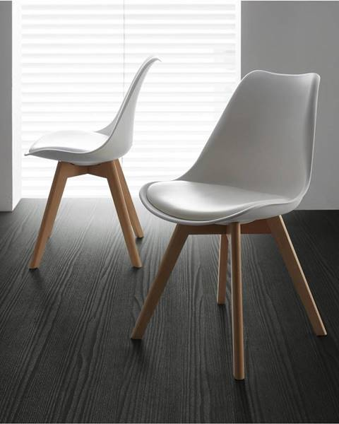 Biela stolička Möbelix