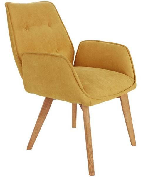 Žltá stolička Möbelix
