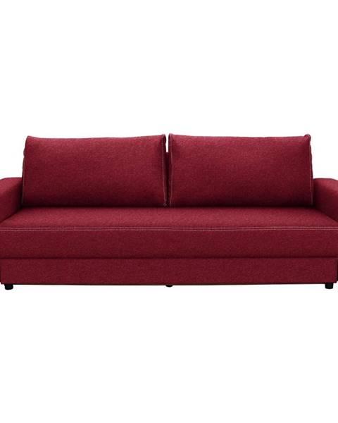 Červená pohovka Möbelix