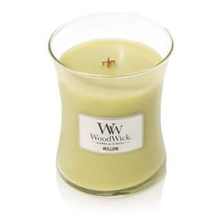 Vonná sviečka Woodwick Vrbové kvety, 55 hodín horenia