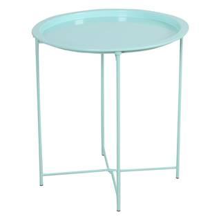 Príručný stolík s odnímateľnou táckou neo mint RENDER