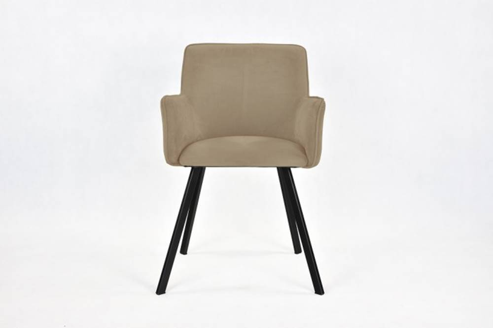 OKAY nábytok Jedálenská stolička Vian béžová, čierna