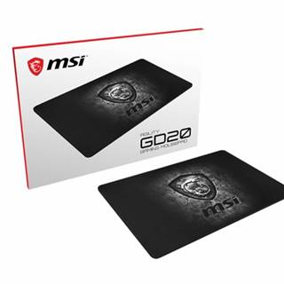 Herná podložka pod myš MSI AGILITY GD20, 320x220x5mm