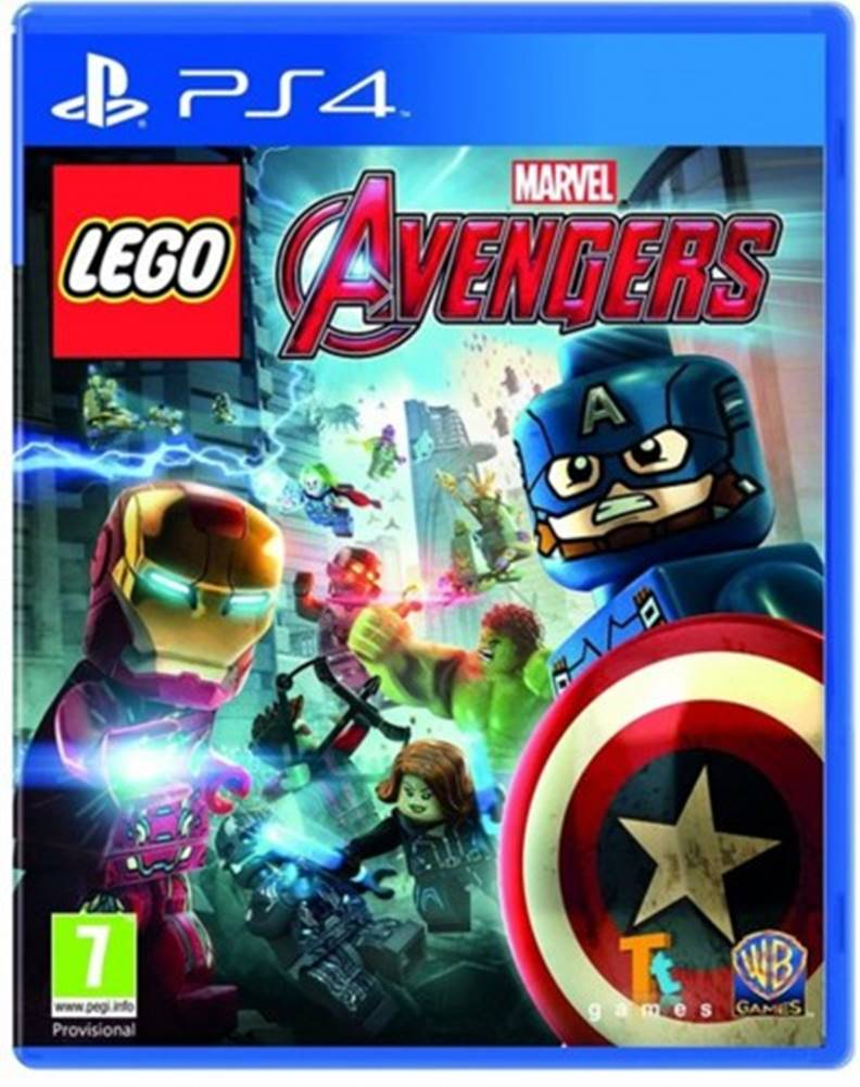 AT Computers PS4 hra - Lego Marvel's Avengers