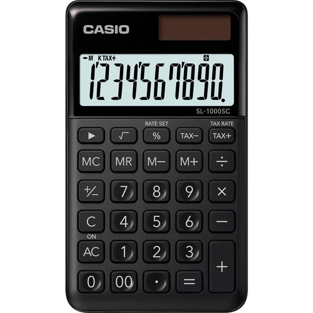 Casio Kalkulačka Casio SL 1000 SC BK čierna