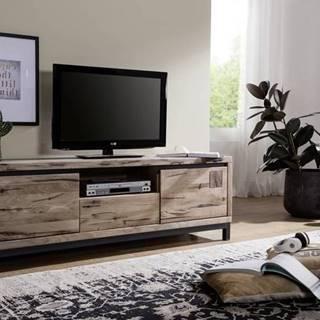 TIROL II. TV stolík 170x56 cm, svetlohnedá, dub