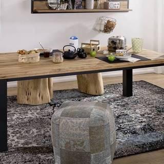 TIROL Jedálenský stôl 200x100 cm, prírodná, dub
