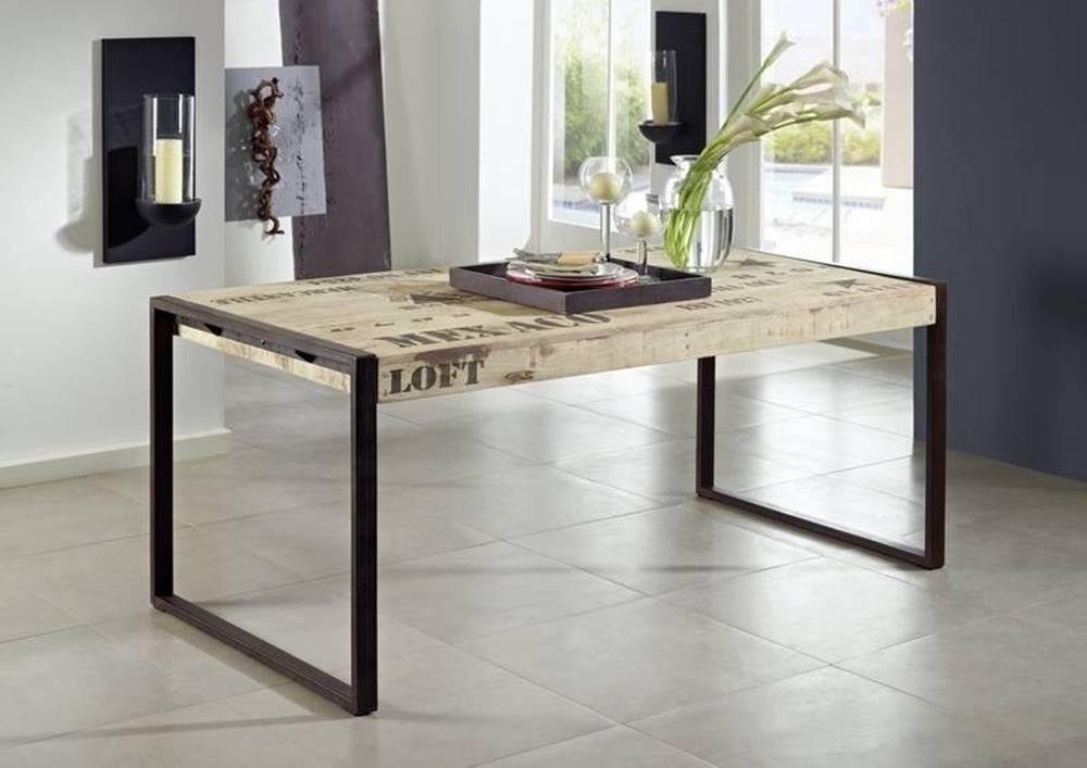 Bighome.sk FABRICA Jedálenský stôl 160x90 cm, mango