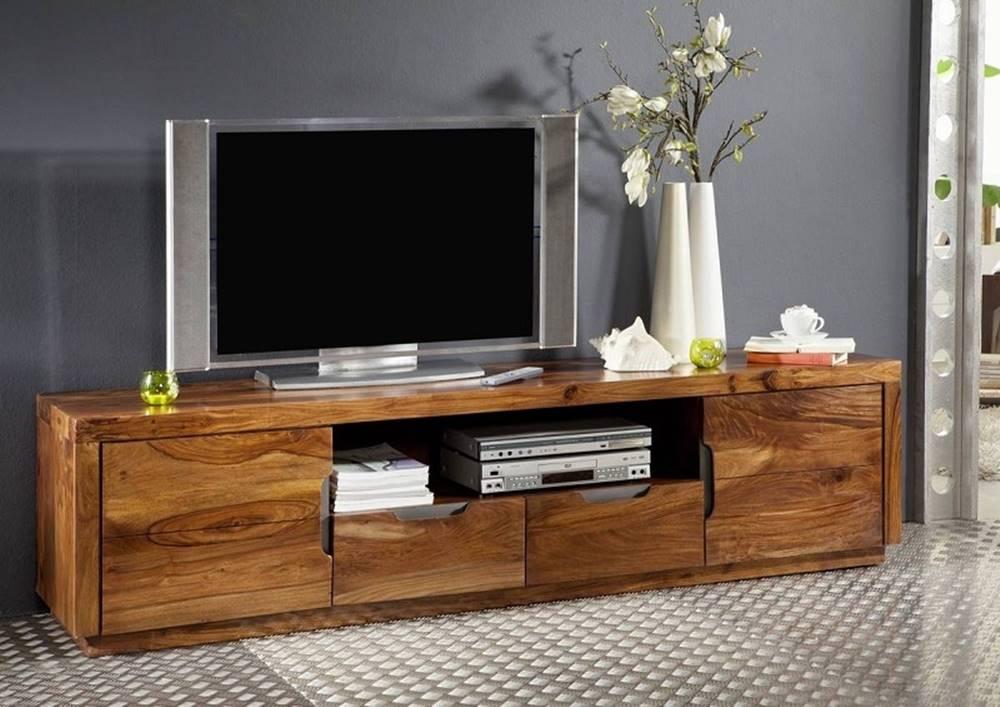 Bighome.sk BARON TV stolík 200x50 cm, palisander