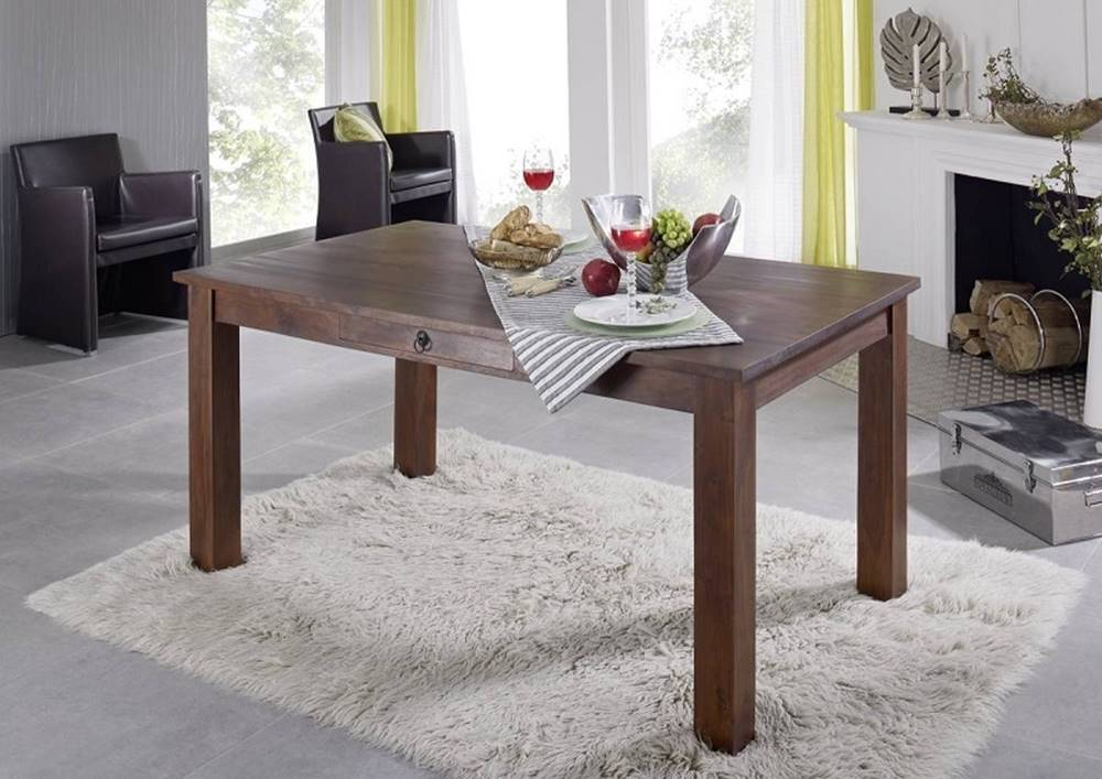 Bighome.sk CAMBRIDGE Jedálenský stôl 200x100 cm, akácia