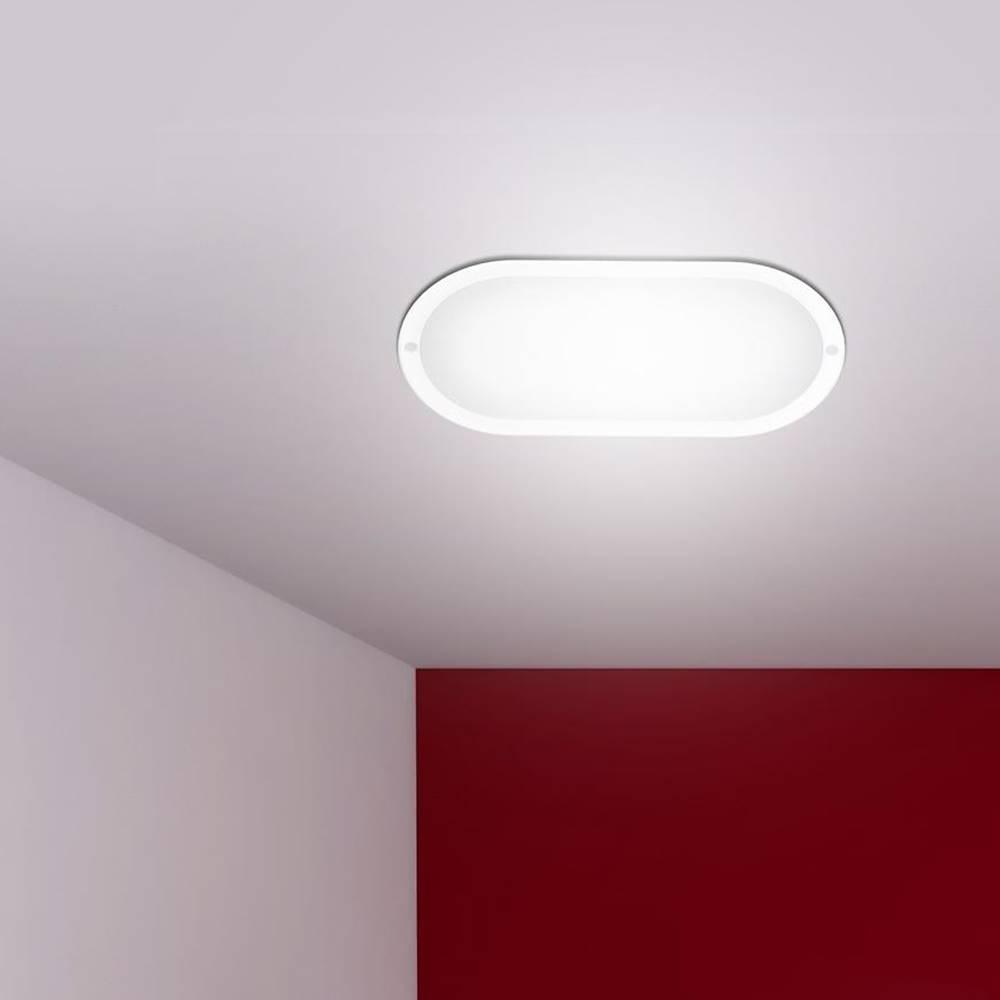 MERKURY MARKET Stropná lampa Aries PL-BO124K Oval 12W IP54 PL1