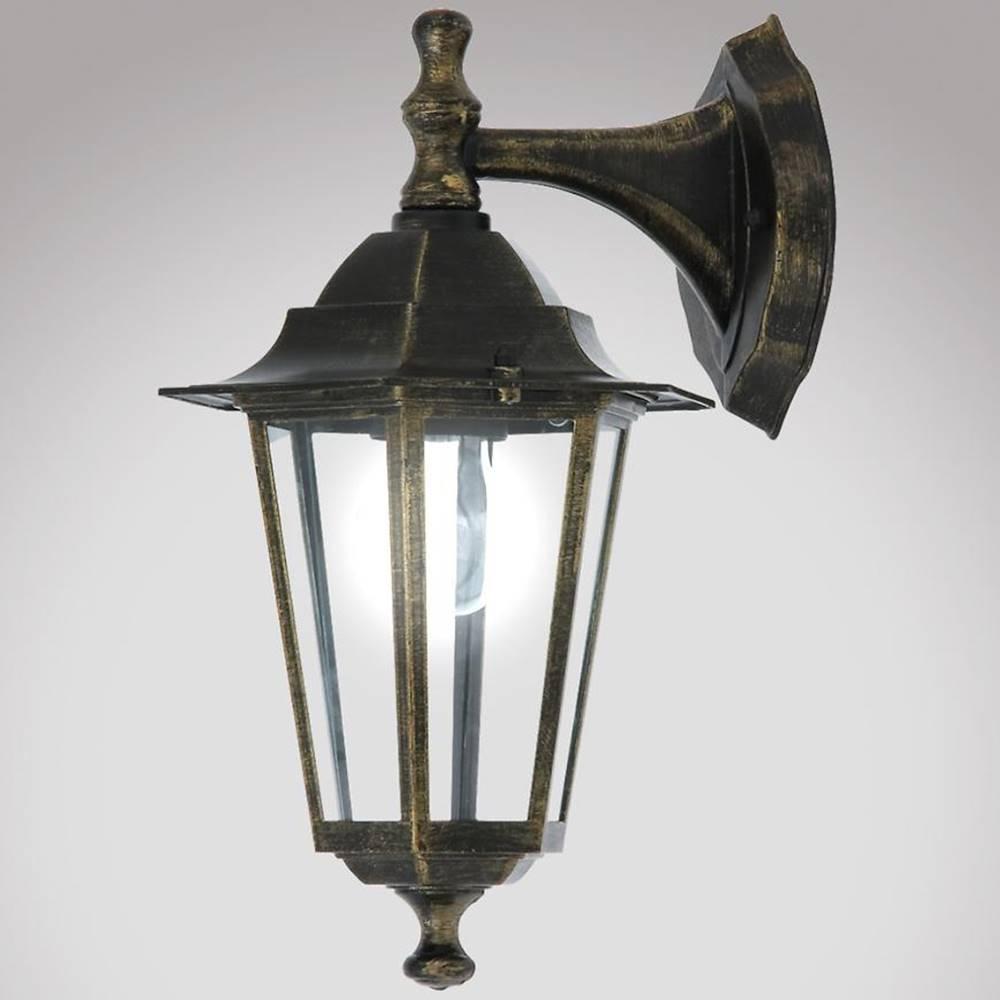 MERKURY MARKET Nastenná záhradná lampa Valence 8232 K1D
