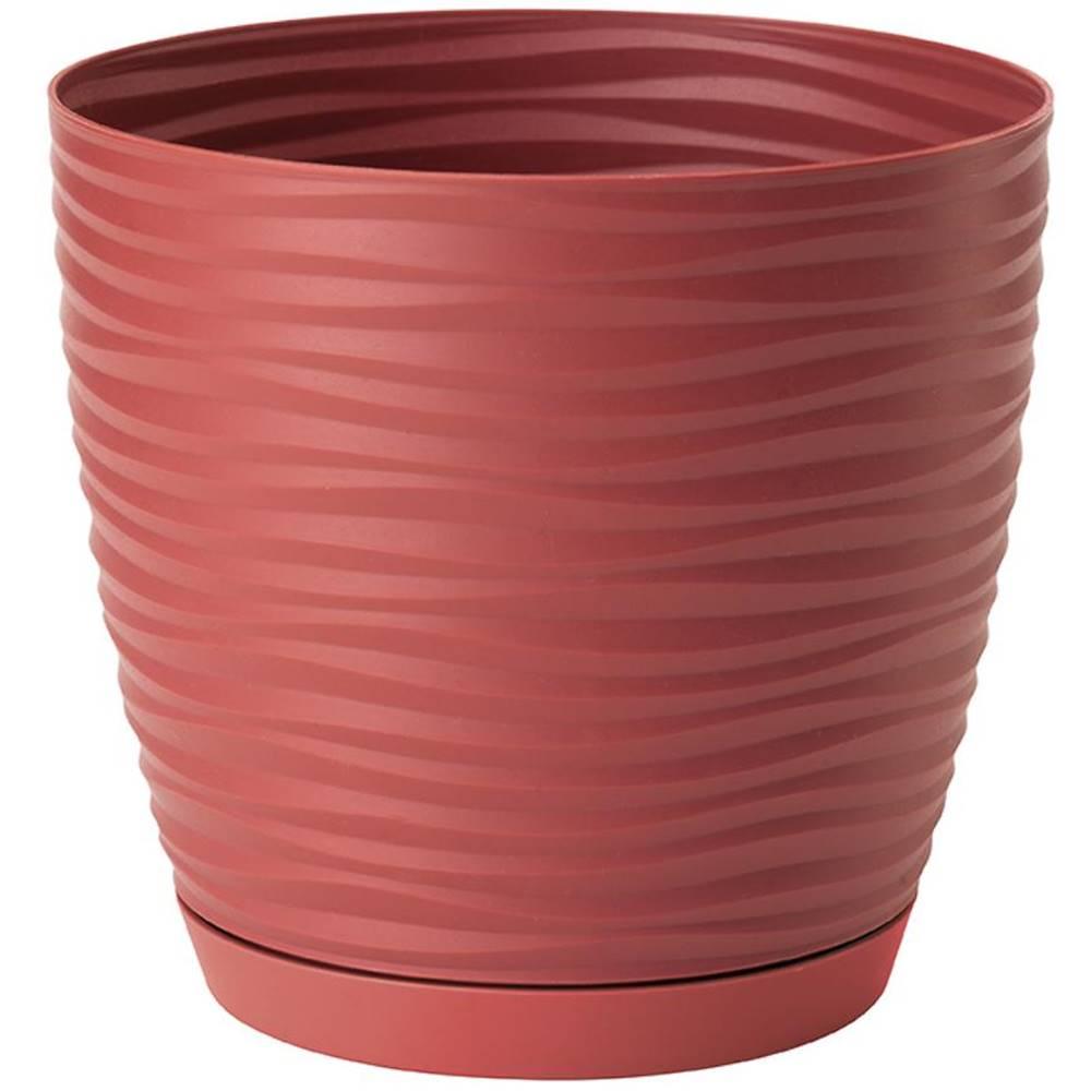 MERKURY MARKET Sahara Petit okrúhly s podstavcom 11 cm červená