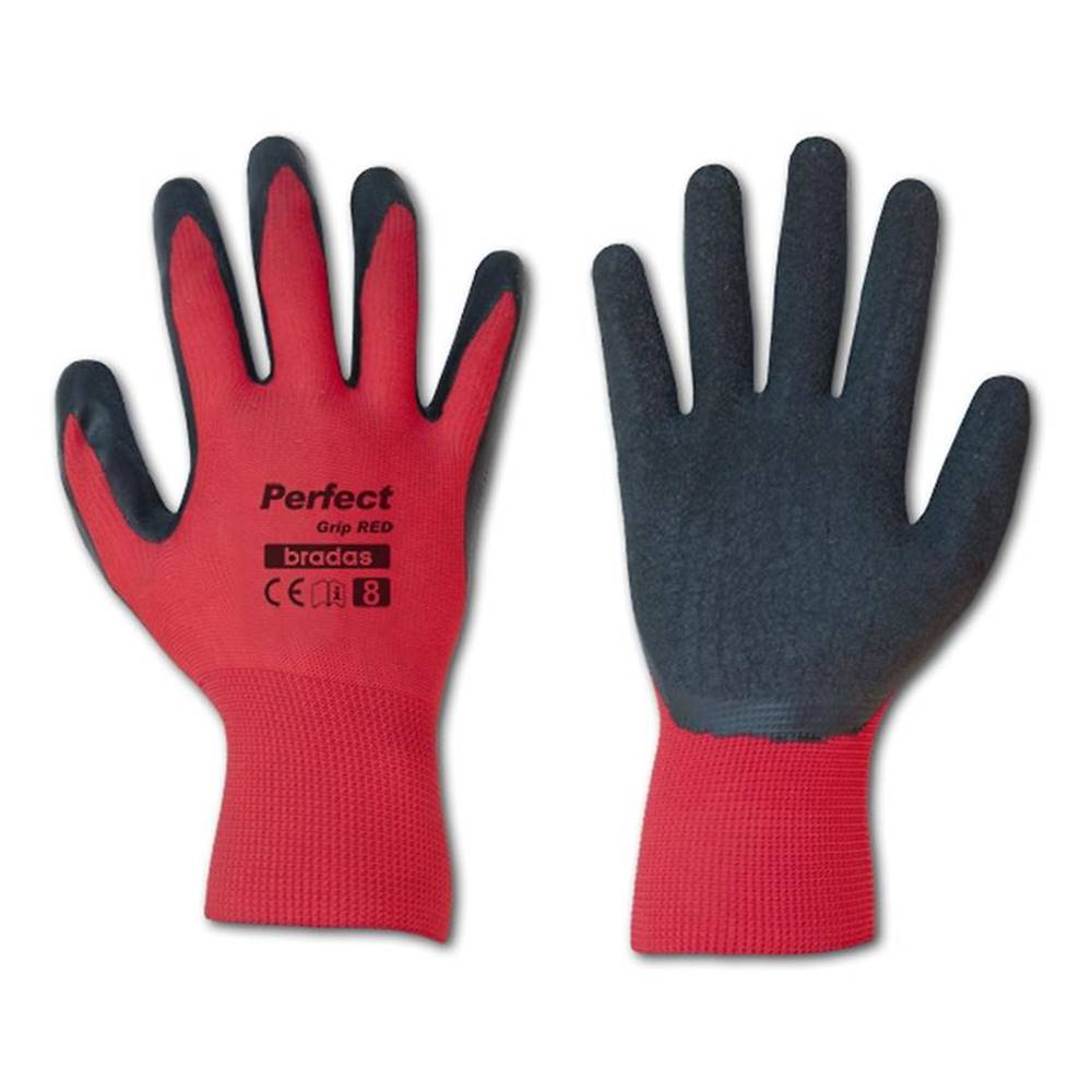 MERKURY MARKET Ochranné rukavice Perfect červené