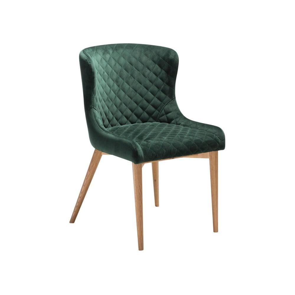 DAN-FORM Denmark Tmavozelená jedálenská stolička DAN-FORM Denmark Vetro