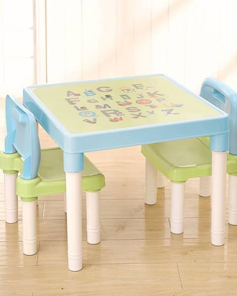 Modrý detský nábytok 4Home