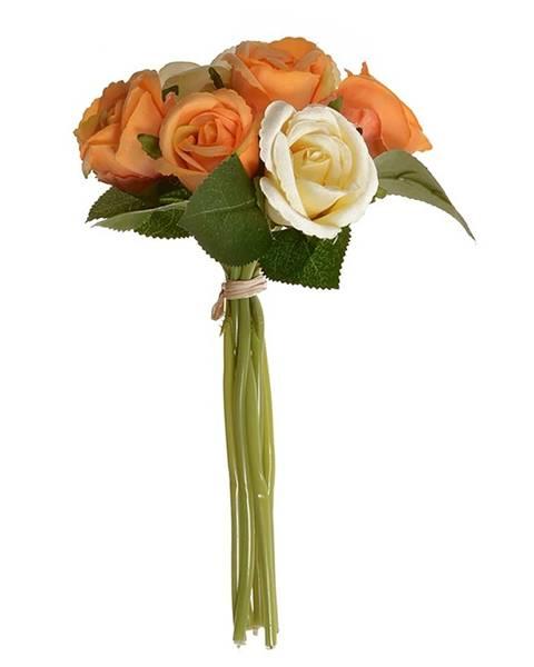 Oranžová váza Sharks
