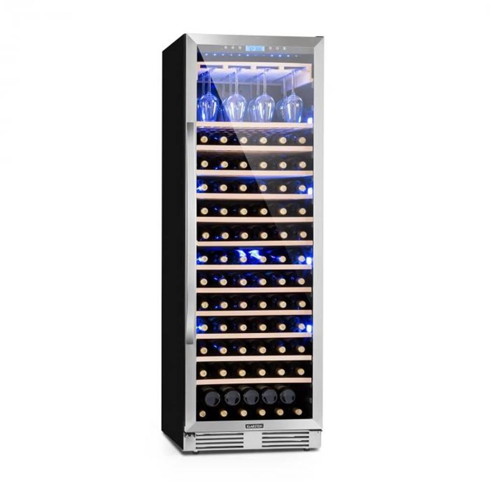 Klarstein Klarstein Vinovilla Grande, veľkoobjemová vinotéka, chladnička, 425l, 165 fl., 3-farebné LED osvetlenie