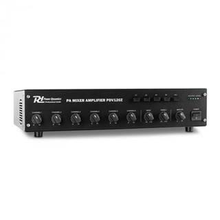 Power Dynamics PDV120Z, 120 W, 4 zóny, 6-kanálový PA zosilň.