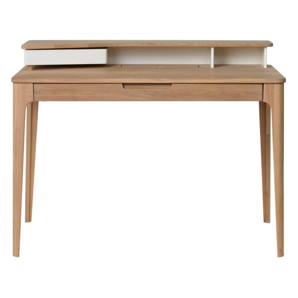 Písací stôl z dreva bieleho...