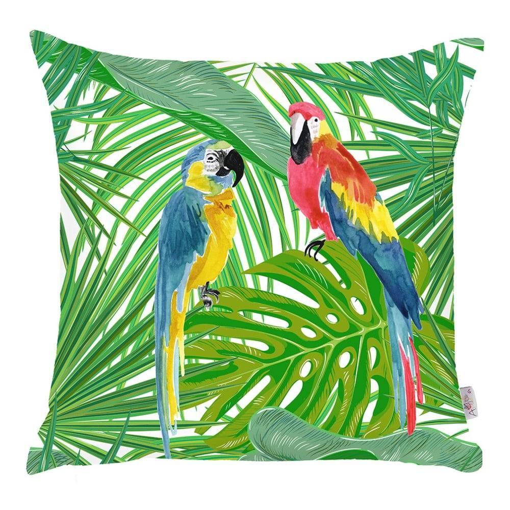 Apolena Obliečka na vankúš Apolena Jungle Parrot, 43×43 cm