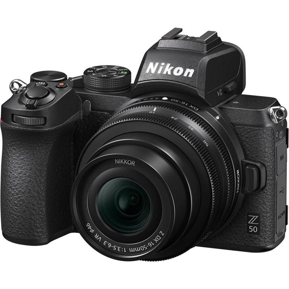 Nikon Digitálny fotoaparát Nikon Z50 + 16-50 VR čierny