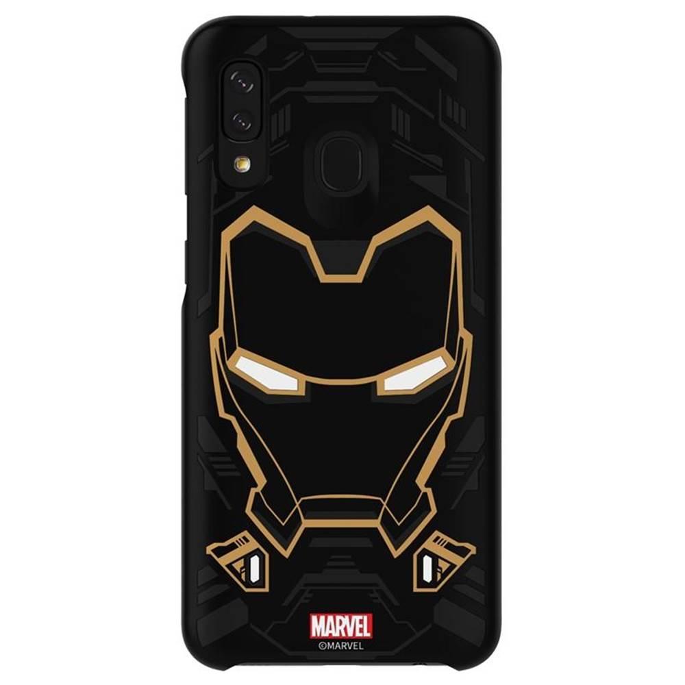 Samsung Kryt na mobil Samsung Smart Cover Iron Man na Galaxy A40 čierny
