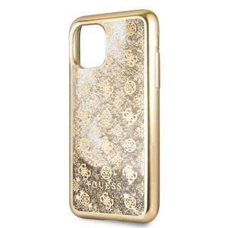 Kryt na mobil Guess 4G Peony Glitter na Apple iPhone 11 Pro Max
