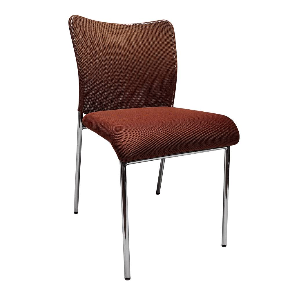 Tempo Kondela Zasadacia stolička hnedá/chróm ALTAN
