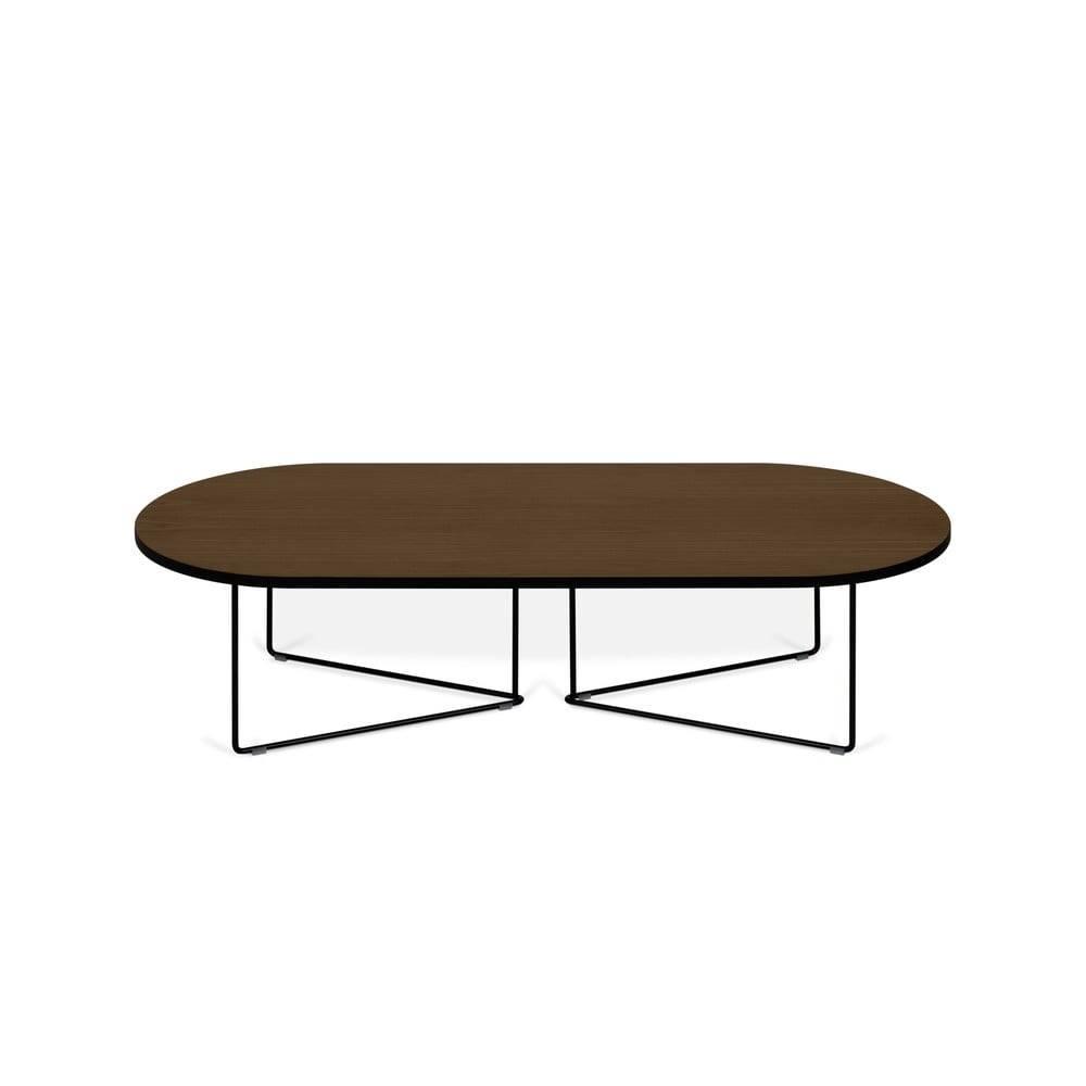 TemaHome Konferenčný stolík s orechovou dyhou TemaHome