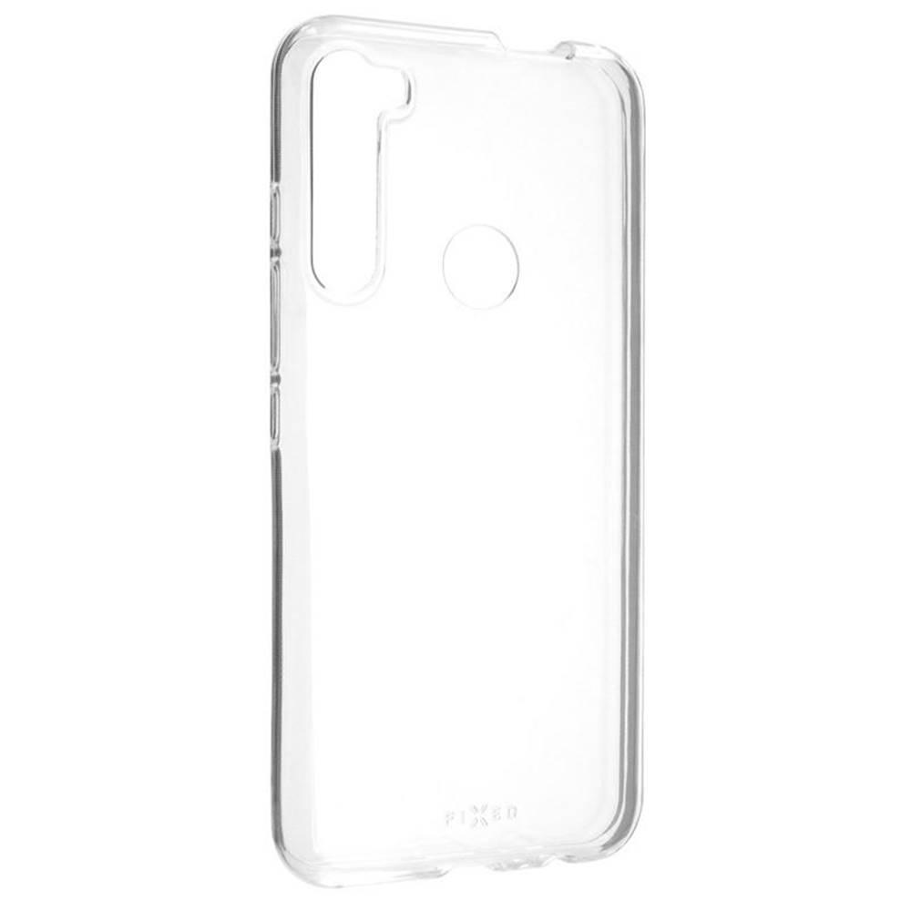 FIXED Kryt na mobil Fixed Skin na Motorola One Fusion+ priehľadný