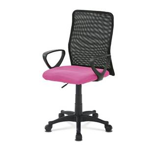 Kancelárska stolička FRESH ružová/čierna