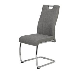 Jedálenská stolička ALINA S sivá
