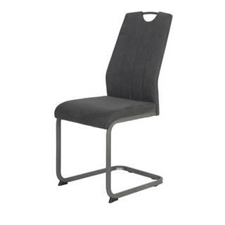 Jedálenská stolička CHRISTINA II antracitová