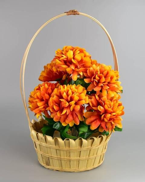 Oranžová váza Tescoma
